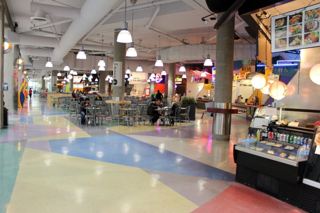 Pacific Centre Mall Food Court
